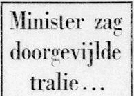 De Telegraaf, 15 april 1957.